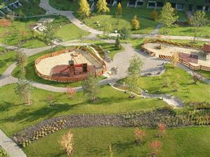 soukromý park pro rezidenty